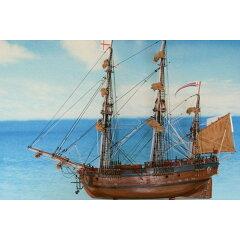 帆船模型 エンデヴァー(LL)帆船模型(完成品)