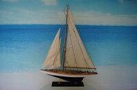 ヨットエンデヴァーGoodQuality青/白(S)帆船模型(完成品)