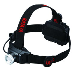 【在庫有り】ハタヤヘッドライトLHL-02充電式乾電池タイプ防水IPX3400ルーメンフォーカス機能付