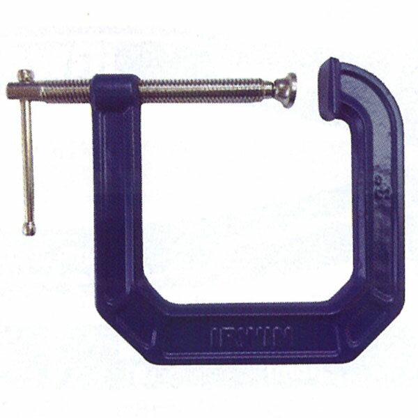 IRWIN(アーウィン)225134C型クランプ(シャコ万力)75mm×112mm(開口値×アゴ深さ)作業工具