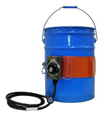 ヤガミペール缶用バンドヒーターYGSN-20-1単相100V【送料込】PSE対応PSE適合製品(電気用品安全法)加熱保温ペール缶用容器用電気ヒーター塗料液体溶かすやわらか
