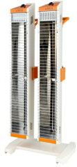 スイデン遠赤外線ヒーターヒートスポットSEH-10A-1(100V電源)シングルタイプ業務用暖房機縦横ワンタッチ切替各種安全装置内蔵