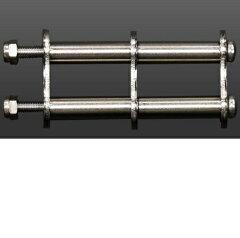 ニックス連結SUS1.5mmベルトループ【総磨き仕上げタイプ】金具アクセサリー