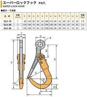 スーパーツールスーパーロックフックSLH1N1.0t開口幅80mmニュータイプ敷鉄板の運搬施工作業安全フック直吊り作業ワイヤーロープスリングベルト送料無料