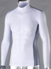 [郵便可・送料250円]BT冷感パワーストレッチ長袖ハイネックシャツJW-625