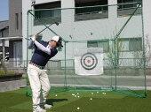 [法人様宛は送料無料(送料区分A)]■ゴルフネットGT-200据置式南英工業ゴルフターゲットシリーズ