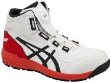 ◆全品ポイント10倍2/161:59まで(要エントリー)◆新作asicsアシックス作業用靴ウィンジョブCP304Boa100(1271A030)ホワイト×ブラック