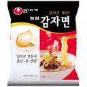 【E特価】1個当90円【BOX(40個)】 農心 カムジャ麺(ジャガイモラーメン)117g【韓…