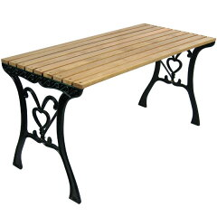 【52%OFF / 半額以下】《ガーデンファニチャー/ガーデンテーブル》パークテーブル ナチュラル...