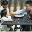 【送料無料】「G-Style リーリオ ダイニングテーブル 5点セット」ガーデンファニチャーセット ガーデンファニチャー/ガーデンテーブル 5点セット/ガーデン テーブルsmtb-k/w-3/
