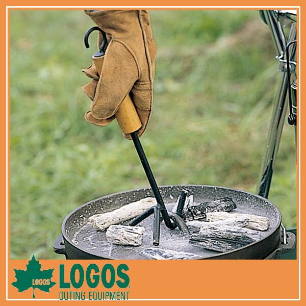 LOGOS ロゴス ウッドグリップリフター/ダッチオーブン キャンプ バーベキュー BBQ アウトドア ピクニック/RCP/05P03Sep16/