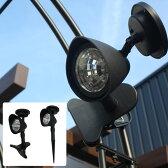 ソーラースポットライト クリップ付き/ソーラーライト アップライト スポットライト LEDソーラーライト/RCP/05P03Sep16/【HLS_DU】