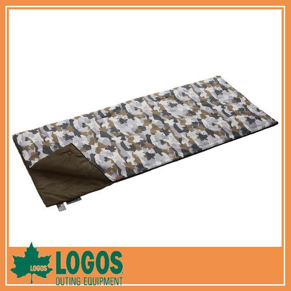LOGOS ロゴス 丸洗いクッションデザインシュラフ・10(カモフラ)/シュラフ 寝袋 テントアクセサリ キャンプ バーベキュー BBQ アウトドア ピクニック/RCP/05P03Sep16/