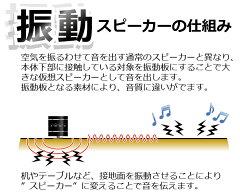 【重低音】Bluetooth振動スピーカーブルートゥースバイブレーションスピーカーワイヤレススピーカー【ステレオiPhone/ipad/スマートフォン/スマホ】【無線小型卓上振動】【スピーカーワイヤレスバイブレーションHS-BVS01】