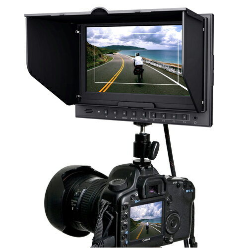 HM-TLB7AD EOS 5D MarkIIモード搭載 7インチ HDMI 液晶モニタ 互換バッテリ対応