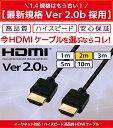 HDMIケーブル 1m【当日発送】1.0m 100cm Ver.2.0b 4K 8K 3D対応 スリム 細線 ハイスピード 1メートル 【メール便専用】 PS3 PS4 レグザリンク ビエラリンク 業務用 2m 3m 5m 10m あります 3