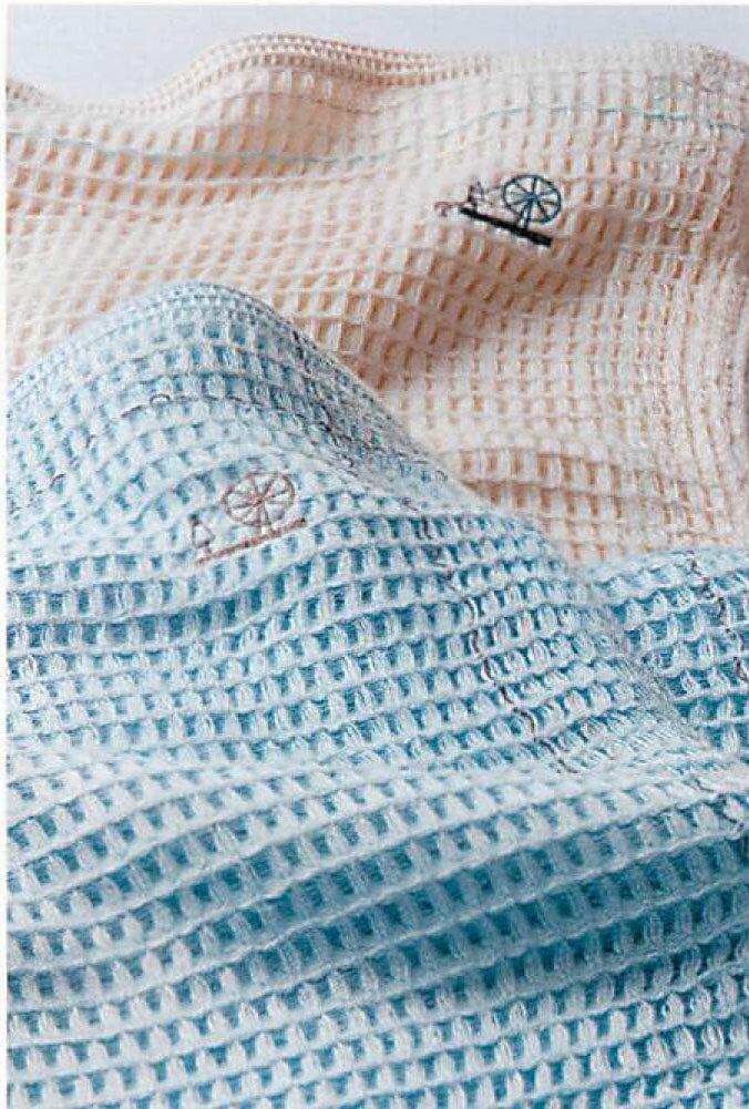 2/13までポイント10倍!【東京西川】イトリエ【itolier】ワッフルケットIT2050 涼を感じる天然素材、日本の確かな縫製技術