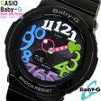 【送料無料】Baby-G カシオ 腕時計 CASIO ベビーG レディース BGA-131-1B2 ネオンダイアルシリーズ Neon Dial Series アナデジ ブラック ハート プレゼント WATCH とけい うでどけい 時計【腕時計】【CASIO/Baby-G】