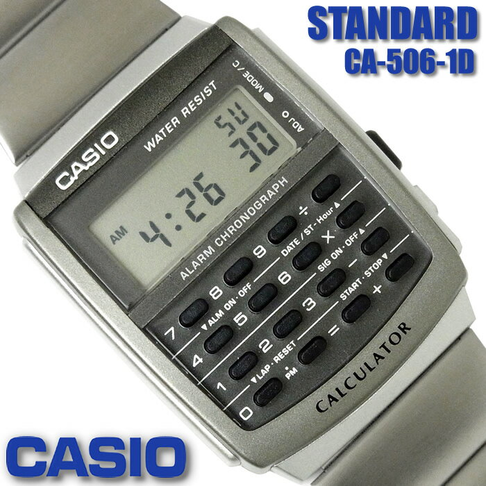 CASIO Calculator Watch CASIO CA-506-1D CASIO DAT...