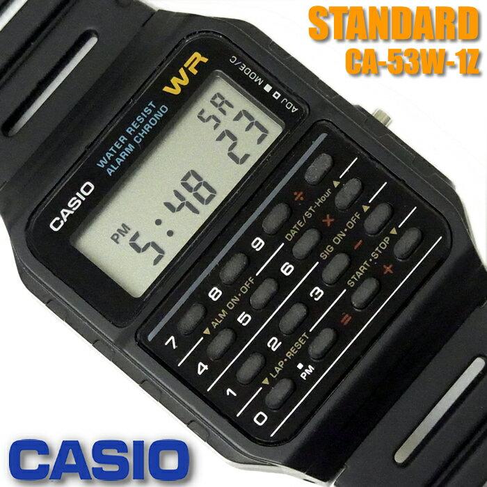 CASIO Calculator Watch CASIO CA-53W-1Z CASIO DAT...
