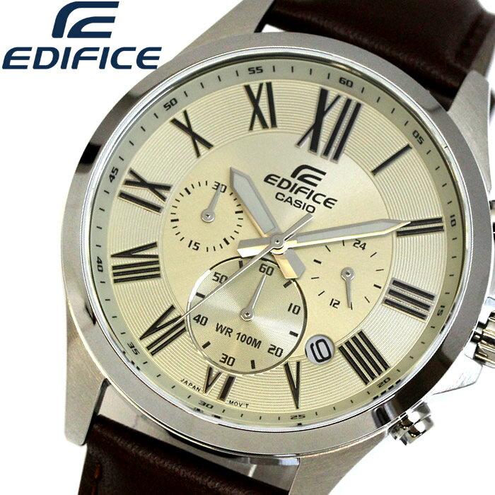 d876f07c8c CASIO EDIFICE カシオ エディフィス クオーツ 腕時計 メンズ クロノグラフ 10気圧防水. EFV-500L-7A  G-SHOCKに続くカシオの新たなシリーズが登場!