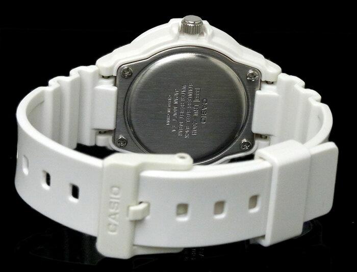 チプカシ 腕時計 アナログ CASIO カシオ チープカシオ レディース LRW-200H-1E ホワイト ブラック プレゼント ギフト おすすめ 激安 人気
