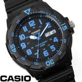 【あす楽】チプカシ 腕時計 アナログ CASIO カシオ チープカシオ メンズ MRW-200H-2B ウレタンベルト 激安 ブランド ダイバーズ風ウォッチ カジュアル スポーツ 人気 父の日 WATCH うでどけい とけい TOKEI
