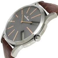 【送料無料】腕時計メンズジャックルマンJACQUESLEMANS1-1788DロンドンGMT時計アナデジクロノグラフアナログデジタル革ベルトレザーアシンメトリー多機能とけいうでどけいウォッチwatchtokeiudedokei