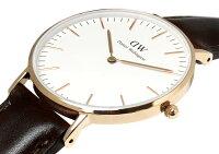 【送料無料】ダニエルウェリントン腕時計ユニセックス36mmClassicローズゴールド本革ベルトレザーメンズレディースクラシック0511DWブリストルプレゼントギフト人気激安特価WATCHうでどけい【腕時計】【DanielWellington】