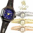 腕時計 レディース アンティーク風 細身 きれいめ アクセサリー ブレスレット 時計 ブランド バングル Viola ヴィオラ スクエア 激安 プレゼント 人気 セール ギフト オフィス ビジネス【レディース腕時計】