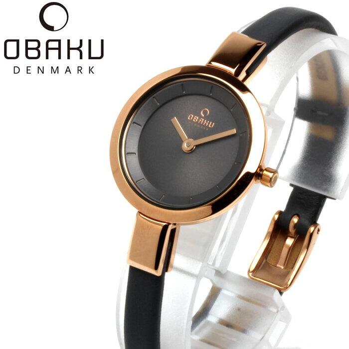 OBAKU オバック おしゃれ 美しい 腕時計 レディース アナログ レザーベルト 25mm V129LXVJRJ プレゼント ラッピング無料可能 人気 おすすめ 激安 ホワイトデー きれい ウォッチ 大人 エレガント オフィス かわいい モテ