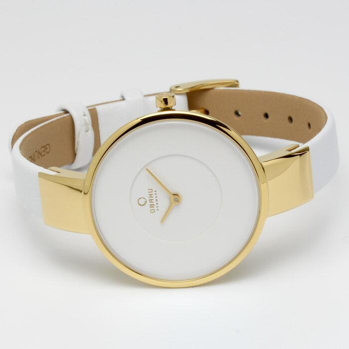 OBAKU オバック おしゃれ 美しい 腕時計 レディース アナログ レザーベルト 32mm V149LXGIRW プレゼント ラッピング無料可能 人気 おすすめ 激安 ホワイトデー きれい ウォッチ 大人 エレガント オフィス かわいい モテ