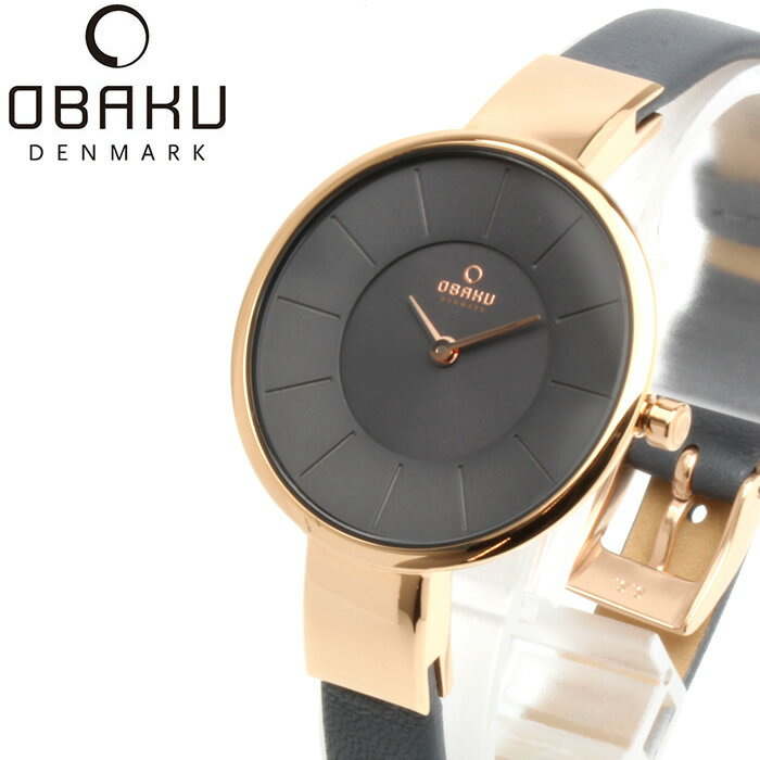 OBAKU オバック おしゃれ 美しい 腕時計 レディース アナログ レザーベルト 32mm V149LXVJRJ プレゼント ラッピング無料可能 人気 おすすめ 激安 ホワイトデー きれい ウォッチ 大人 エレガント オフィス かわいい モテ