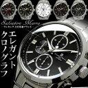 腕時計 メンズ クロノグラフ ウォッチ 腕時計 時計 ブランド ステンレス クロノ サルバトーレマーラ Salvatore Marra SM14103 プレゼント ギフト 人気 WATCH うでどけい とけい 時計【メンズ】【腕時計】