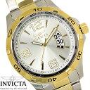 【送料無料】腕時計 メンズ INVICTA インビクタ スペシャリティ 0086 クオーツ ゴールド シルバー Specialty ステンレス ブランド 人気 プレゼント 特価 WATCH うでどけい【腕時計】【INVICTA/インビクタ】