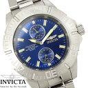 腕時計 メンズ INVICTA インビクタ ダイバーズウォッチ プロダイバー 14346 スモールセコンド シルバー ブルー クオーツ Pro Diver ステンレス ブランド 人気 プレゼント 特価 WATCH うでどけい【腕時計】【INVICTA/インビクタ】