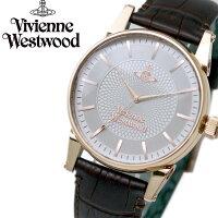 ヴィヴィアンウエストウッドVivienneWestwood腕時計メンズVV065RSBRシルバー×ローズゴールドケース×ブラウンレザー流行ブランドラッピング無料プレゼント人気新作流行おしゃれモテ【腕時計】【メンズ】
