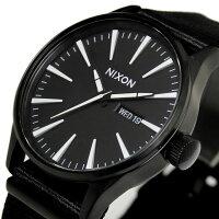 【送料無料】ニクソンTHESENTRYA0271148NIXON腕時計メンズセントリーオールブラックナイロンベルトNATOベルトシンプル黒ウォッチ時計プレゼントギフト人気特価激安WATCHうでどけい【腕時計】【ニクソン/NIXON】