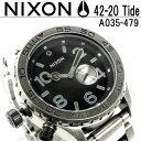 【送料無料】NIXON THE 42-20 TIDE ニクソン 腕時計...