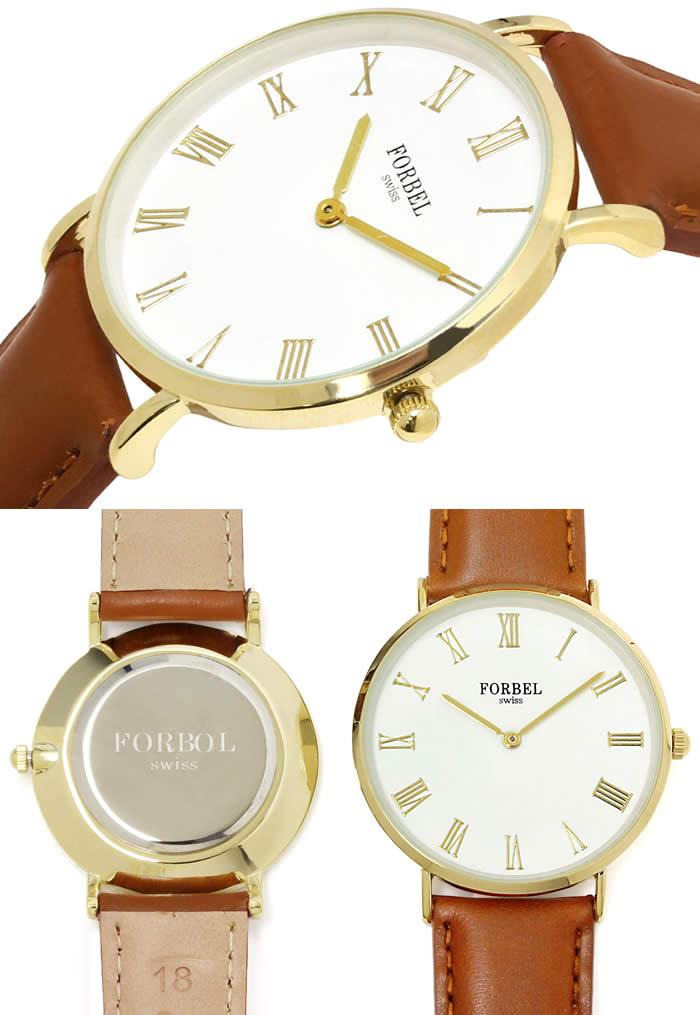 ペアウォッチ 腕時計 ペア腕時計 薄型 時計 ゴールド 革ベルト キャメル ブランド 激安 シンプル 2針タイプ イタリアンカーフ プレゼント 記念日 watch tokei udedokei とけい うでどけい ギフト