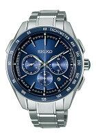 【送料無料】【国内正規品】ブライツセイコー腕時計ソーラー電波クロノグラフメンズSAGA181チタンSEIKOBRIGHTZ金属アレルギー対応電波ソーラークロノグラフビジネスシンプルうでどけいとけいWATCH時計【取り寄せ】