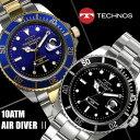 腕時計 メンズ メンズ腕時計 TECHNOS ダイバーズウォッチ テク...