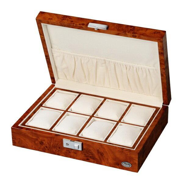 腕時計 box ボックス ケース 収納 ウォッチケース コレクションケース ディスプレイケース コレクションボックス おしゃれ 木製 クリスマス プレゼント ラッピング無料 【腕時計】【収納】【インテリア】【高級】:HAPIAN