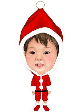 似顔絵用衣装 〜クリスマス用サンタさん(乳幼児用)〜  ※ご注意:当店似顔絵のオプション商品です。衣装単体ではご注文いただけません!