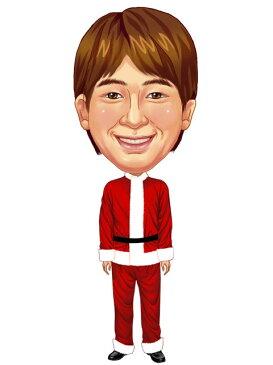 似顔絵用衣装 〜クリスマス用サンタさん(男性用)〜  ※ご注意:当店似顔絵のオプション商品です。衣装単体ではご注文いただけません!