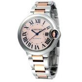 【最大2,000OFF円クーポン配布中】カルティエ Cartier 腕時計 バロンブルー W6920098 ピンク