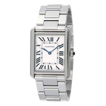 カルティエ Cartier 腕時計 タンクソロ W5200014 ホワイト