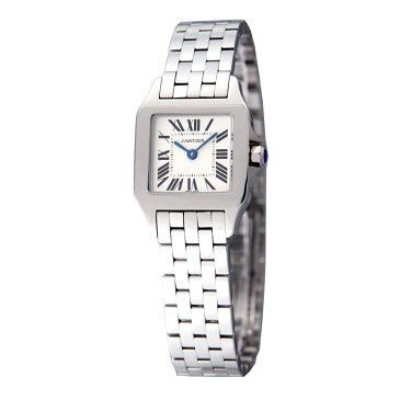 カルティエ Cartier 腕時計 サントス ドゥモアゼル W25064Z5 ホワイト