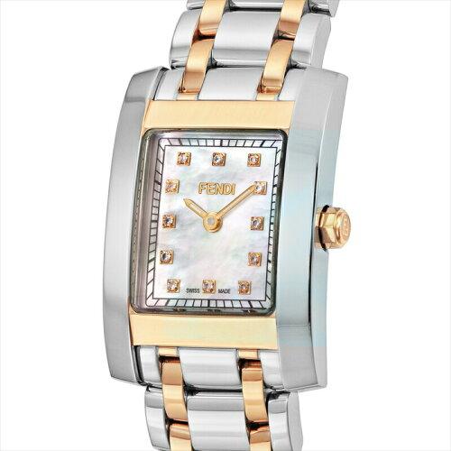 FENDI(フェンディ)レディース腕時計クラシコF702240Dホワイトパール