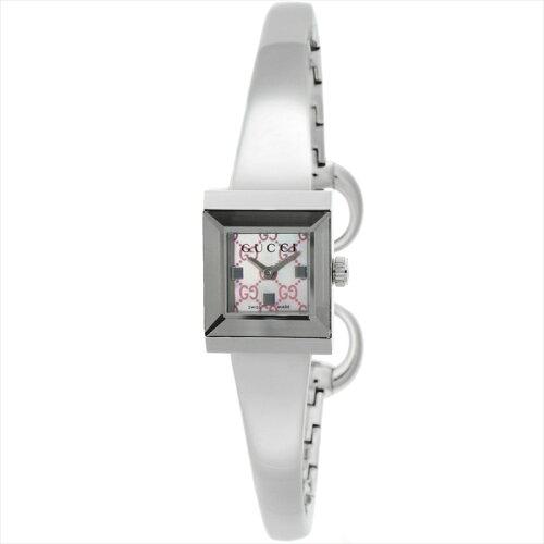 GUCCIグッチ腕時計G-FRAMEピンクパールYA128516